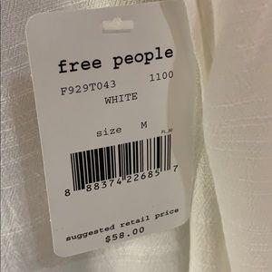 Free People Tops - NWT Free People Flowy Keyhole Tank